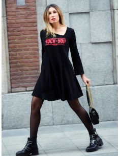 "VESTIDO GLITTER ""ROCK YOU"""